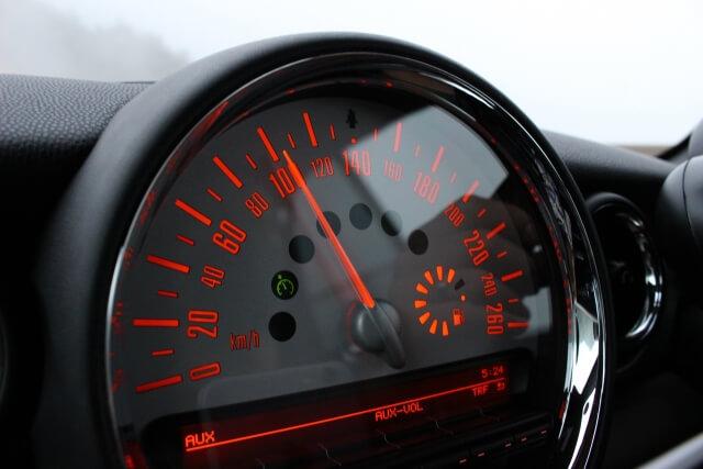 スピードが速い